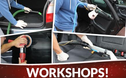 Wir bieten Workshops in unserem Hause an!